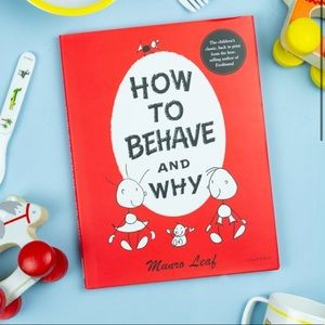 How To Behave and Why Book   Munro Leaf Classics